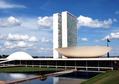 Congreso Nacional Brasilia - Oscar Niemeyer
