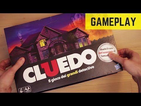 #CLUEDO: il GIOCO da tavolo dei grandi detective GAMEPLAY
