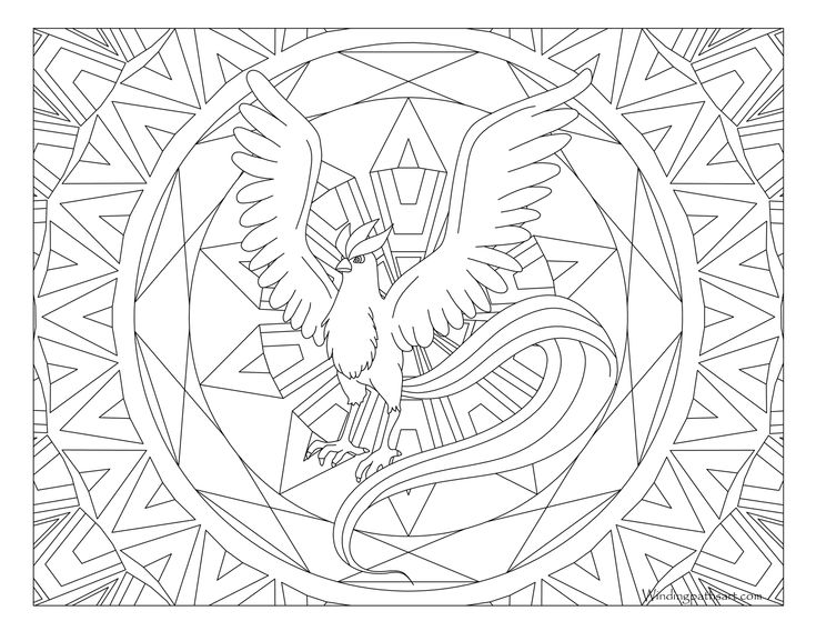 Articuno Pokemon Coloring Pages Coloriage Pokemon Coloriage Disney Coloriage