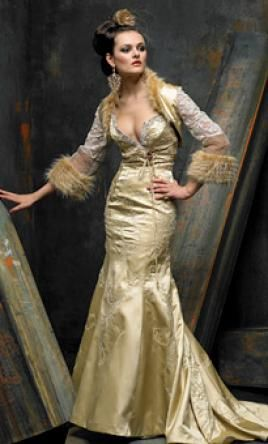 Used St. Pucchi Wedding Dress 485, Size 6  | Get a designer gown for (much!) less on PreOwnedWeddingDresses.com