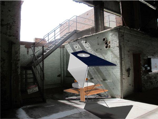 "® Nat Soontornvinate | ""Soulitude"" for Cockatoo Island Sydney (Concept), parasitic spatial design"