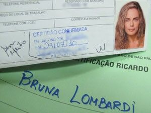 Atriz Bruna Lombardi (Foto: Kleber Tomaz / G1)