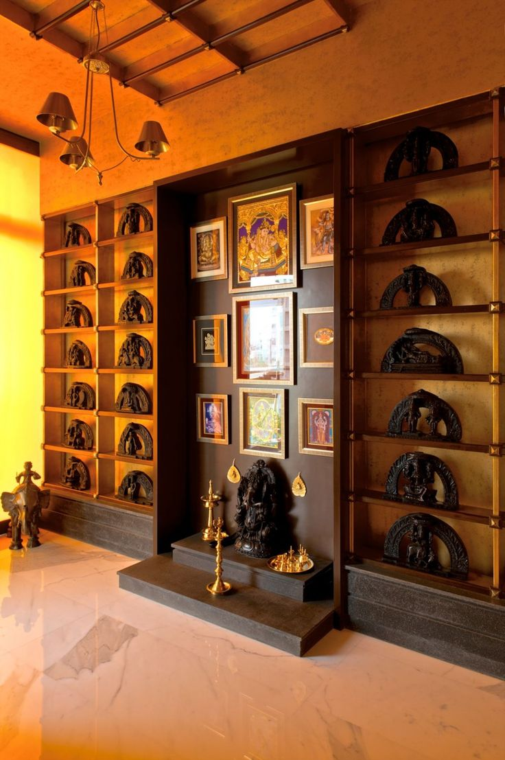 Indian Home Interior Design: 14 Inspirational Pooja Room Ideas For Your Home