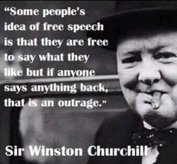 Funny Quotes Churchill: Funny Quotes Freedom Of Speech. QuotesGram