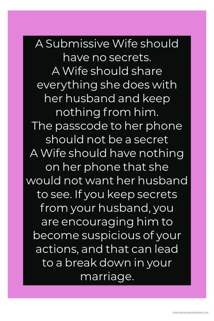 Husband loosens her i commit error
