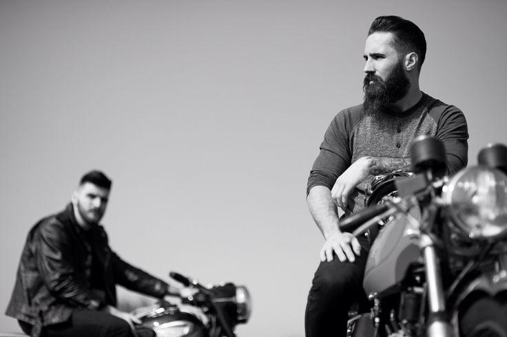 #triumph #motorcycles #deuscustoms #beards