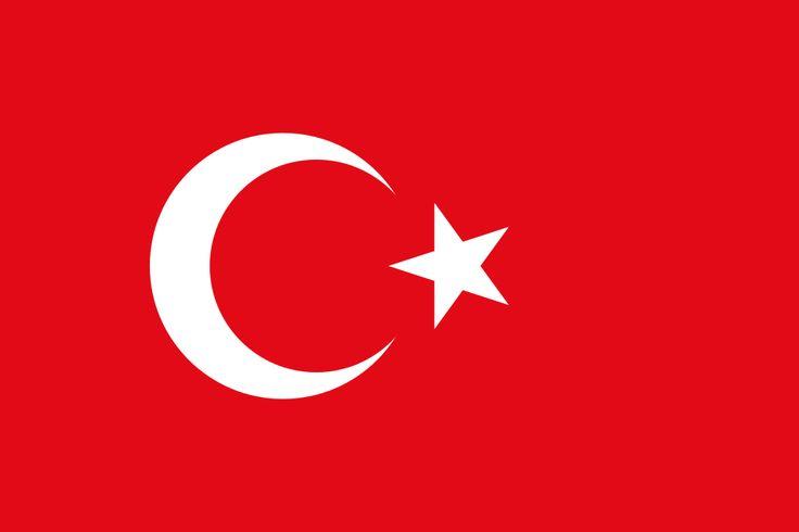 Bandeira da Turquia.  Fotografia: David Benbennick.
