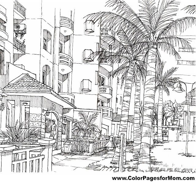 house coloring page 24 free sample join fb grown up coloring group