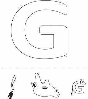 alphabet crafts free g is for giraffe template letters pinterest alphabet crafts alphabet and preschool