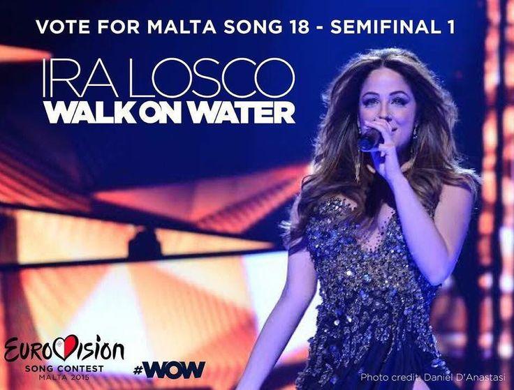 #WOW #WalkOnWater #Malta #Eurovision #ESC2016 #ComeTogether #eurovisionsongcontest #eurovision2016 #Music #SongContest by iralosco #Eurovision #Eurovision2016