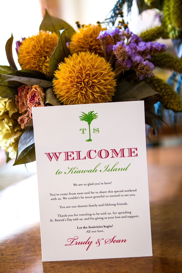 17 Best Images About Welcome Notes On Pinterest Hotel