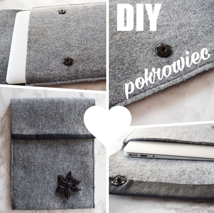 Diy Pokrowiec Na Macbooka Diy Blog Sewing