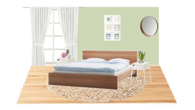 Bedroom by girlie-contrast on Polyvore featuring interior, interiors, interior design, home, home decor, interior decorating, Suki Cheema, Ballard Designs and bedroom
