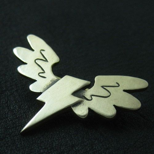 Bronze Wonderbolts pin by TheSunkenCity on Etsy