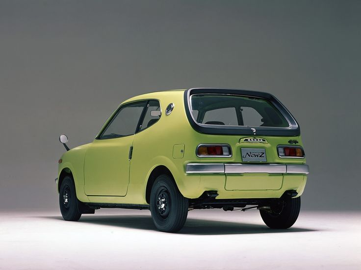 "Honda Z coupe (1970 - 74) came with an air cooled 354cc 2 cylinder engine or the sportier Z600 - with a 598cc engine. It originally sold at Honda Motorcycle dealerships until the arrival of the Civic & Honda Car dealers. At first they arrived as a ""kit."""