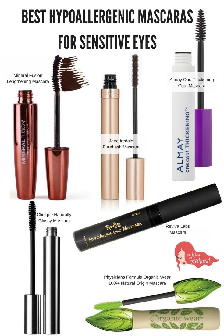 The Best #Hypoallergenic Mascaras for Sensitive Eyes | How to be a Redhead