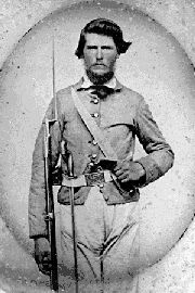 PVT George C. King, Co. B, 19th Alabama.  Promoted to Lieutenant and, possibly, Captain. Wounded in the right hip at Chickamauga and in the right arm at Jonesboro GA. Survived the War.