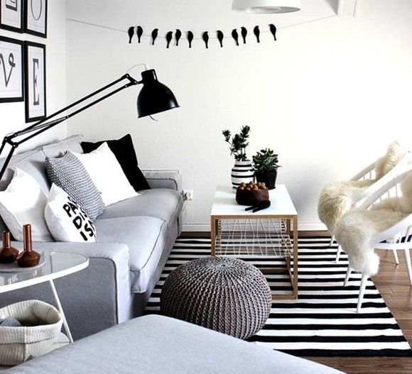 Tapete Listras - Black & White