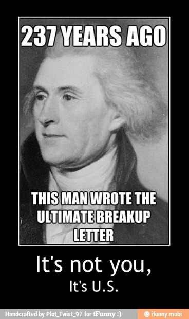 Image result for declaration of independence meme