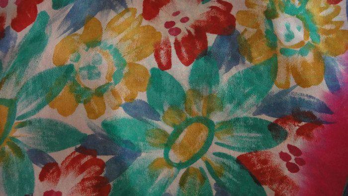 Navidad - sari de gasa estampada diferentes patrones fáci... - hecho a mano por nupurgoyal en DaWanda