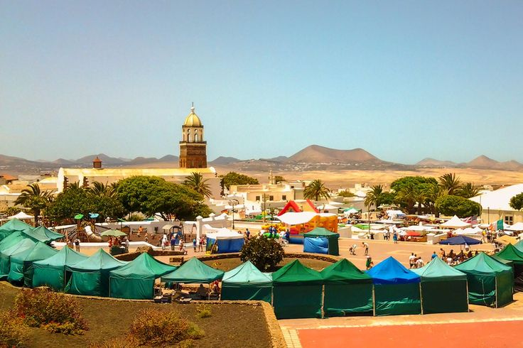 Taken in Teguise, Lanzarote looking across the landscape with the Church and tower in the foreground across the volcanic landscape to the mountains of Timanfaya in the distance. View my blog at, www.colingreenphotography.blogspot.co.uk  Picture Copyright © 2017 Colin Green All Rights Reserved