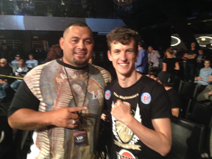 Gazza and UFC Heavyweight Mark Hunt