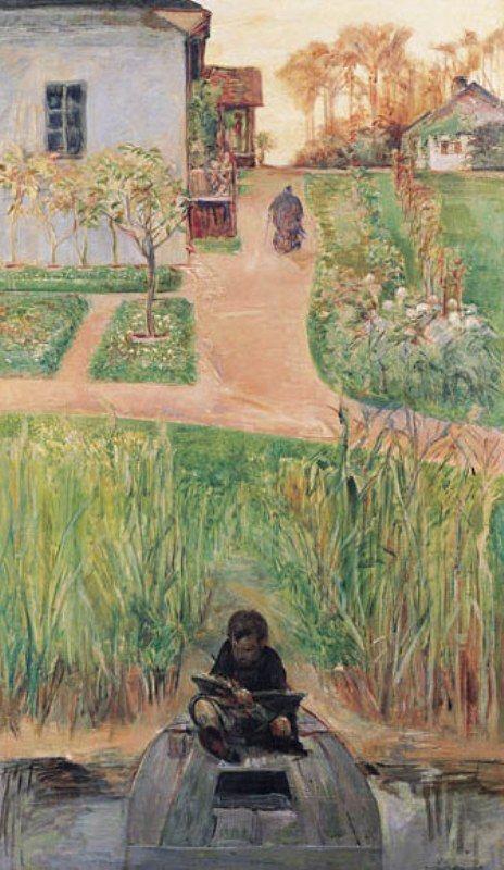 Jacek Malczewski - Childhood Painter (1919)