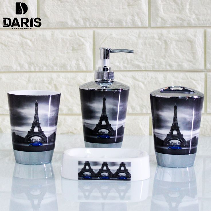 Cheap bath set, Buy Quality accessories bath directly from China bathroom accessories Suppliers: SDARISB Plastic Audrey Hepburn Portrait 6 Sets Of Bathroom Wash Sets And Toilet Brush Furnishings Bathroom Accessories Bath set