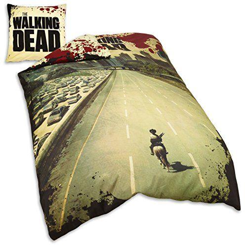 The Walking Dead Single Duvet Cover & Pillowcase Set The Walking Dead http://www.amazon.co.uk/dp/B00F45DA3A/ref=cm_sw_r_pi_dp_qcKbub0W7S6FS