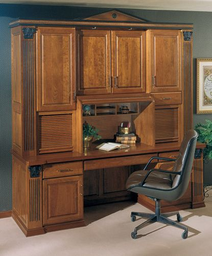 Home Office Cabinets - StarMark Cabinetry | This home office… | Flickr