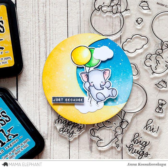 Mama Elephant Stamp Highlight: Fly With Me @akossakovskaya @mamaelephant #cardmaking #mamaelephant