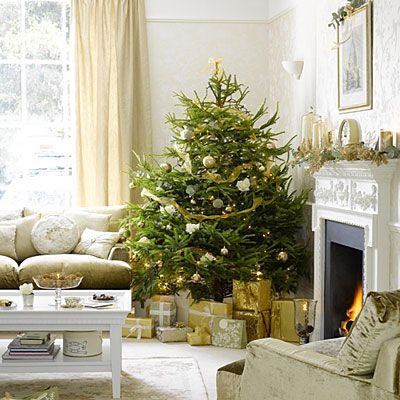 Decorate with gold accents