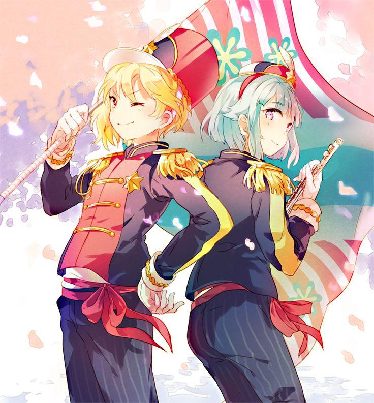 ensemble stars | Tags: Anime, Mocha (Mokaapolka), Ensemble Stars!, Shino Hajime, Nito ...