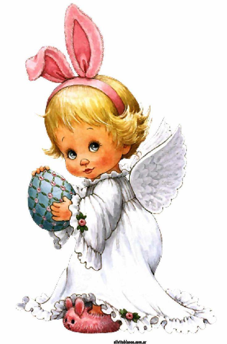 Картинки ангелы зайчики