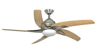 Viper ceiling fan by fantasia fans, Stainless Steel