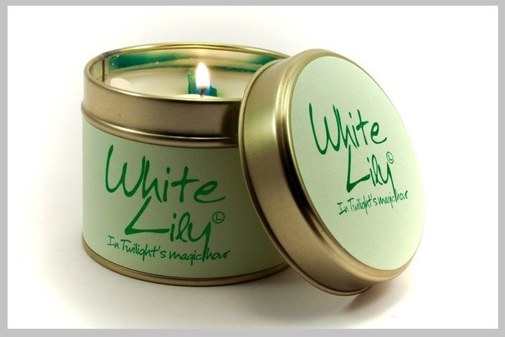 Geurkaarsen - Scented candles - White Lily