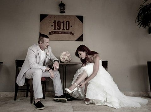 On July 25, 2015, WWE Hall of Fame Superstar Diamond Dallas Page married his longtime girlfriend, Brenda Nair, in Cancun, Mexico. The wedding took place on the beach at Azul Fives in the Rivera Maya. Page and McNair each have two adult daughters that took part in the ceremony. Former WCW and WWE star Marc Mero attended the wedding. #WWE #WWEweddings #WCW