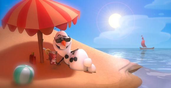Snowman: A drink in my hand my snow up against the burning sand probly getting gourgously tanned in summer!
