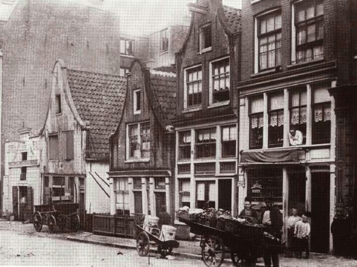 Overtoom Amsterdam rond 1900
