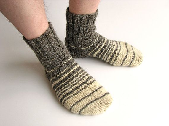 how to make woolen socks by hand
