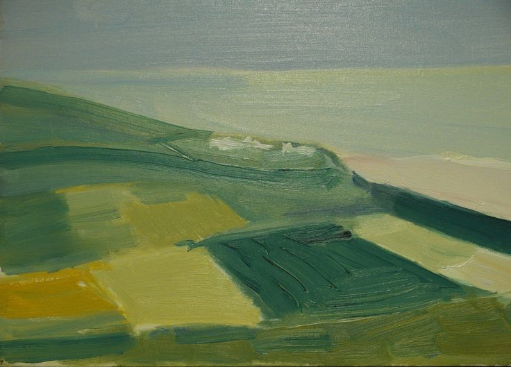 Nicolas de Staël (French, born Russia, 1914-1955), Cap Blanc-Nez, 1954. Oil on canvas.