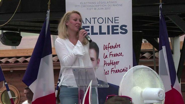 Marion Maréchal-Le Pen fait sa dernière sortie politique dans le Rhône