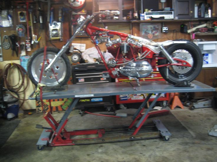160 Best Homemade Motorcycle Lifts Stands And Dollies Images On