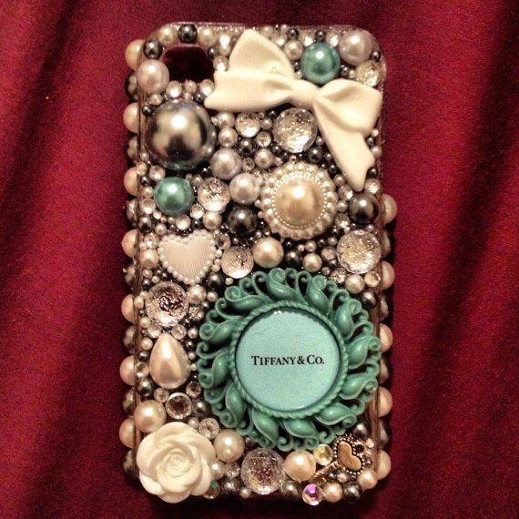 Custom 3D Bling iPhone Cell Phone Case by DatGirlNOLA on Etsy- love it!