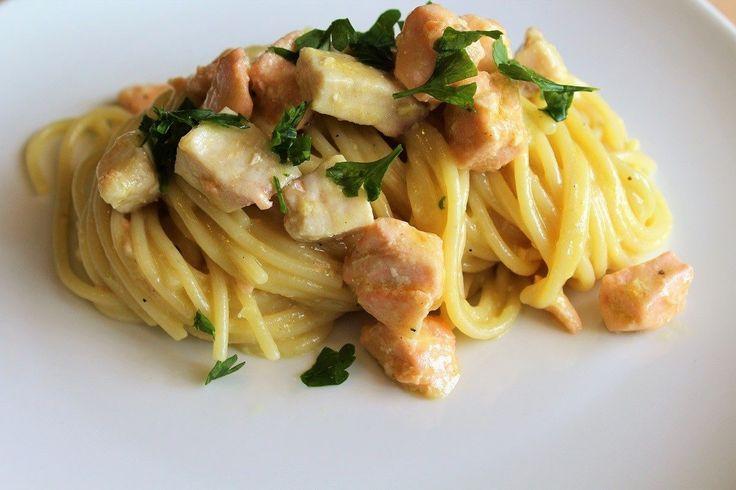 Carbonara di mare la ricetta del primo piatto cremoso