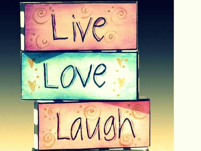 Live love laugh | Quotes and sayings | Pinterest