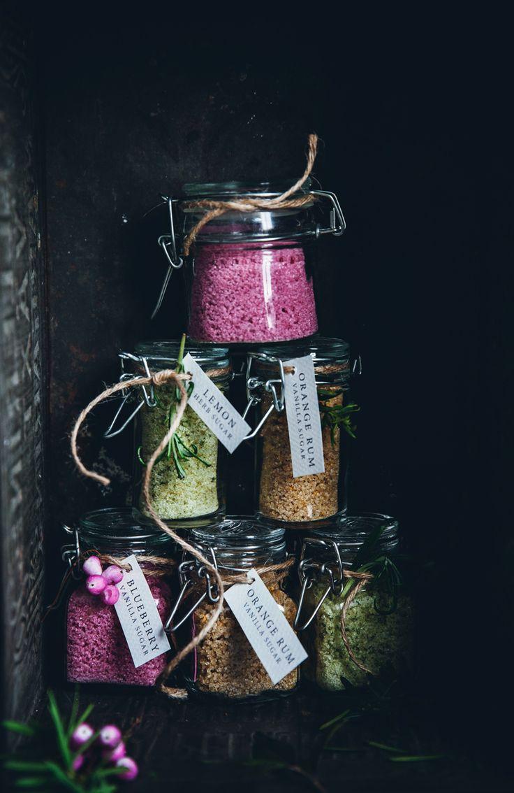 Edible gifts - flavored sugar