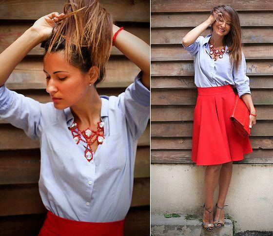 Galant-Girl Ellena - Когда на мне красная юбка... :)