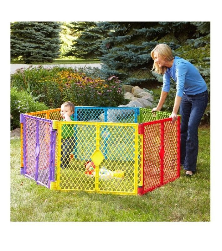 Baby Portable Play Yard Pop-up Play Pen Travel Infant Child Toddler Colorful - http://baby.goshoppins.com/baby-gear/baby-portable-play-yard-pop-up-play-pen-travel-infant-child-toddler-colorful/
