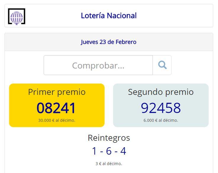 Lotería Nacional | Sorteo del #Jueves 23 de #Febrero de 2017 #Loteria #LoteriaNacional